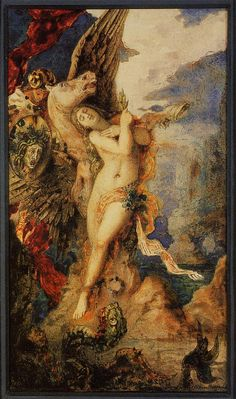"Gustave Moreau, ""Perseus and Andromeda,"" ca. 1867-1869."