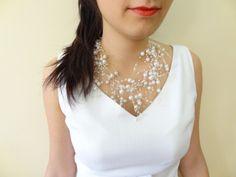 #weddingjewelry #weddingnecklace #bridalnecklace #bridalgifts #bridesmaidgifts #weddingaccessories