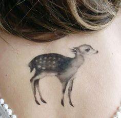 Doe deer tattoo