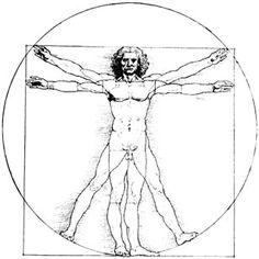 Leonardo da Vinci, Vitruvian Man (c. Vitruvian Man Tattoo, Da Vinci Vitruvian Man, Drunvalo Melchizedek, Face Proportions, Genome Project, Health And Physical Education, Human Genome, Human Body, Tattoos For Guys