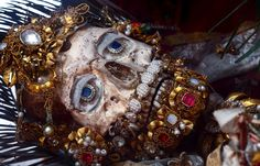 St. Valerius (Weyarn, Germany) | 19 Bejeweled Skeletons That'll Blow Your Mind