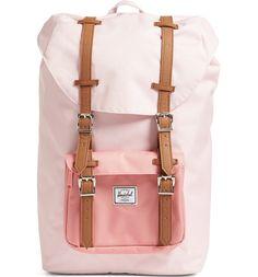 Herschel Supply Co. Little America - Mid Volume Backpack - Beige Cute Backpacks, Girl Backpacks, School Backpacks, Leather Backpacks, Leather Bags, Herschel Backpack, Nordstrom Sale, Backpack For Teens, Cute School Supplies