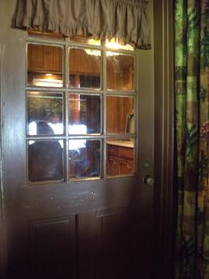 {*Elvis's home Graceland Door at the far end of the Kitchen*}