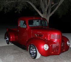 1946 Dodge Pickup Hot Rod Trucks, Cool Trucks, Big Trucks, Classic Trucks, Classic Cars, Chrysler Trucks, Fargo Truck, Dodge Pickup Trucks, Custom Trucks