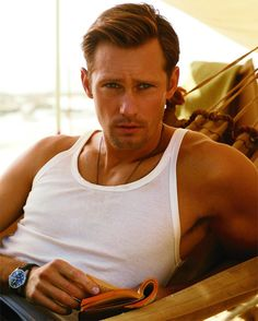 Happy Birthday to my favorite vampire...Eric Northman(also known as Alexander Skarsgard).  Your welcome.