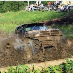 That's how you mud!