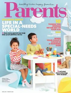 Why Parents magazine is making special needs history - YES!