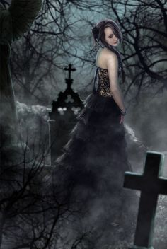 Angel After Dark. Top Gothic Fashion Tips To Keep You In Style. Consistently using good gothic fashion sense can help Goth Beauty, Dark Beauty, Vampires, Divas, Gothic Fantasy Art, Fantasy Witch, Beautiful Dark Art, Drawn Art, Vampire Art
