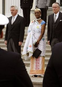 Princess Elizabeth Bagaya, Uganda's first female lawyer and Cabinet member. She was fired as Cabinet member for refusing to marry Idi Amin. She is from the royal family of the Batoro tribe. Toro was one of the four kingdome which was abolished in 1967 by former President Milton Obote. She became Uganda's ambassador to the United States in 1986. (Info: Jet Magazine, June 1986)
