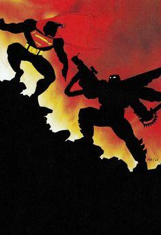Superman vs. The Dark Knight by Frank Miller