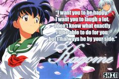 Top 10 Best Anime Quotes I cried so much at this scene in Inuyasha! Kagome might not have any powers but she still kicks ass. Anime Qoutes, Manga Quotes, Me Me Me Anime, Anime Love, Inuyasha Quotes, Top 10 Best Anime, Kagome And Inuyasha, Kagome Higurashi, Kirara