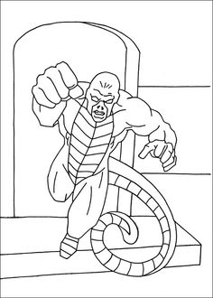 Captain America Målarbilder för barn. Teckningar online till skriv ut. Nº 5