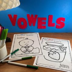 Your Students will ADORE this 120 Page Coloring Book for Long and Short Vowels! Add it to your plans to compliment any Short Vowel and Long Vowel Unit! 120 Coloring Pages For Some Short Vowel and First Grade Classroom, First Grade Math, Fall Coloring Pages, Coloring Books, Long U Words, Parent Volunteers, Classroom Management Tips, Writing Lessons, Math Lessons