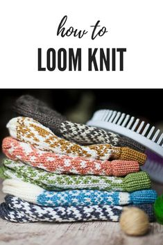 Loom Knitting blog with free patterns, instruction and crafts. Lots of helpful information for the loom knitter!