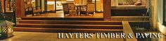 Hayters Timber and Paving supply a wide variety of products to beautify your home.