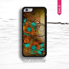 """FINAL SALE iPhone 6 Black Rubber Case - """"Rusty Lace"""" by Iveta Abolina I62 by HelloNutcase on Etsy https://www.etsy.com/listing/221619221/final-sale-iphone-6-black-rubber-case"""
