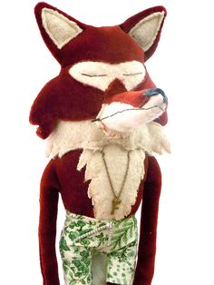 The Fox with no name ( so you can name him yourself) on Etsy, $59.62