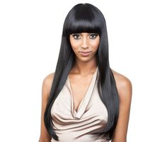 ISIS Red Carpet Synthetic Hair Wig Nominee Comb Location: None. Adjustable Strap: Yes. Drawstring: No. Cap Size: May vary slightly by brand. Cosplay Costume, Cosplay Wigs, Short Hair Wigs, Human Hair Wigs, Lace Front Wigs, Lace Wigs, Mode Lolita, Wig Party, Straight Bangs