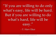 Great Quote from T. Harv Eker.