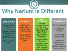 Why is Nerium Different? bsassaman.nerium.com