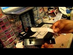 Altered shoe box tutorial - warning... this is long! But cool idea & shes done a great job