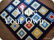 teen or boy quilt