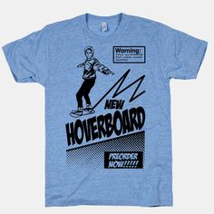Back to the Future Hoverboard Advertisement