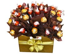 Lindt and Ferrero, Boxed Chocolate Bouquet