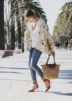 Kimono de pájaros by Zara