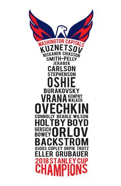 d703f1ee1 2018 Stanley Cup Champions Washington Capitals