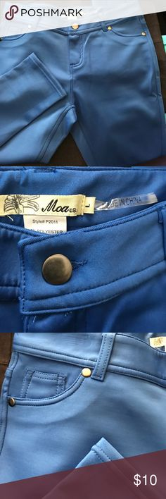 Jeggings Blue stretchy jeggings. MOA USA Pants Leggings