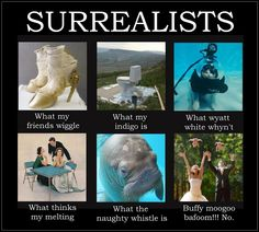 What Surrealists are.