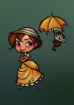 Tarzan : Chibi Jane by relsgrotto.deviantart.com on @DeviantArt