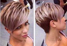 Original Asymmetrical Pixie Hairstyle Short-Pixie-Haircut.