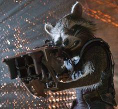 'Rocket Raccoon' in 'Guardians Of The Galaxy' (2014)