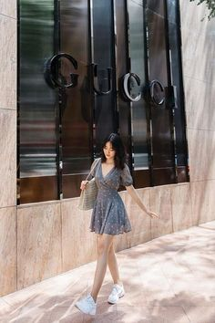 Korean Casual Outfits, Cute Casual Outfits, Girly Outfits, Simple Outfits, Chic Outfits, Korean Summer Outfits, Korean Girl Fashion, Korean Fashion Trends, Asian Fashion