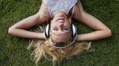 muziek luisteren vind ik heerlijk