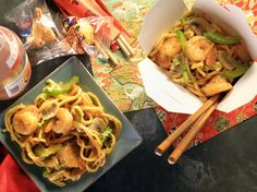 Shrimp Lo Mein from CookingChannelTV.com