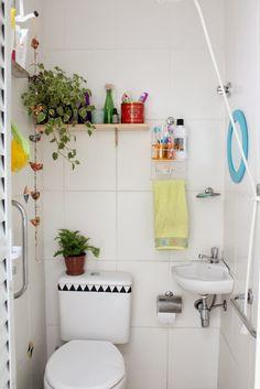 Casa de Colorir: O toque que faltava (Como reformar um banheiro gastando pouco)