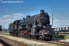 Dampflokomotive 33 132 abgestellt im Bahnhof Wien Heiligenstadt