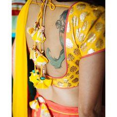 blouse Courtesy- @PayalKumarPhotography