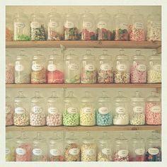 Jars of Vintage Sweets