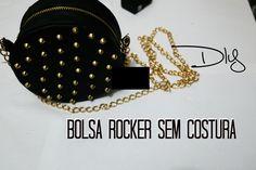 DIY: Mini bolsa estilo Rocker sem costura