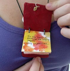 """Inchie"" Book Necklaces and Keychains ~ LOVE this!!!"