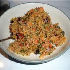 Cranberry and Cilantro Quinoa Salad vegan-recipes