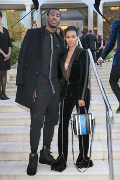 Teyana Taylor and Iman Shumpert taylor and iman shumpert black love Prince Harry and Meghan Markle, Sterling K Brown and More Celebs Out and About Teyana Taylor, Black Love, Calin Couple, Iman Shumpert, Swag Couples, Black Couples Goals, Handsome Black Men, Bae Goals, Dear Future Husband