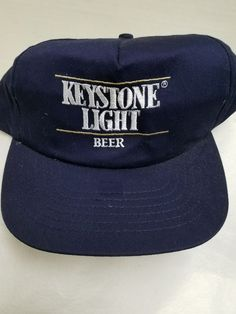 Keystone Light Beer Trucker Hat Vintage Style Snapback Cap Wouldnt it Be  Great 954802cddadf