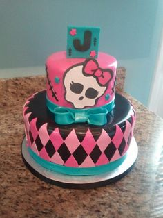 Monster High Cake — Birthday Cakes