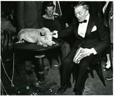 Weegee the Famous: After the Opera ... at Sammy's Nightclub on the Bowery (c1944)