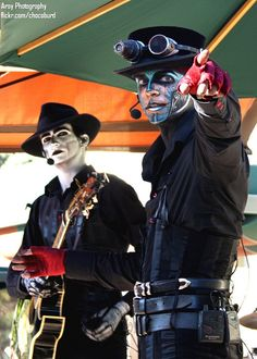 Steam Powered Giraffe    I know these people. @Kathryn Martindale